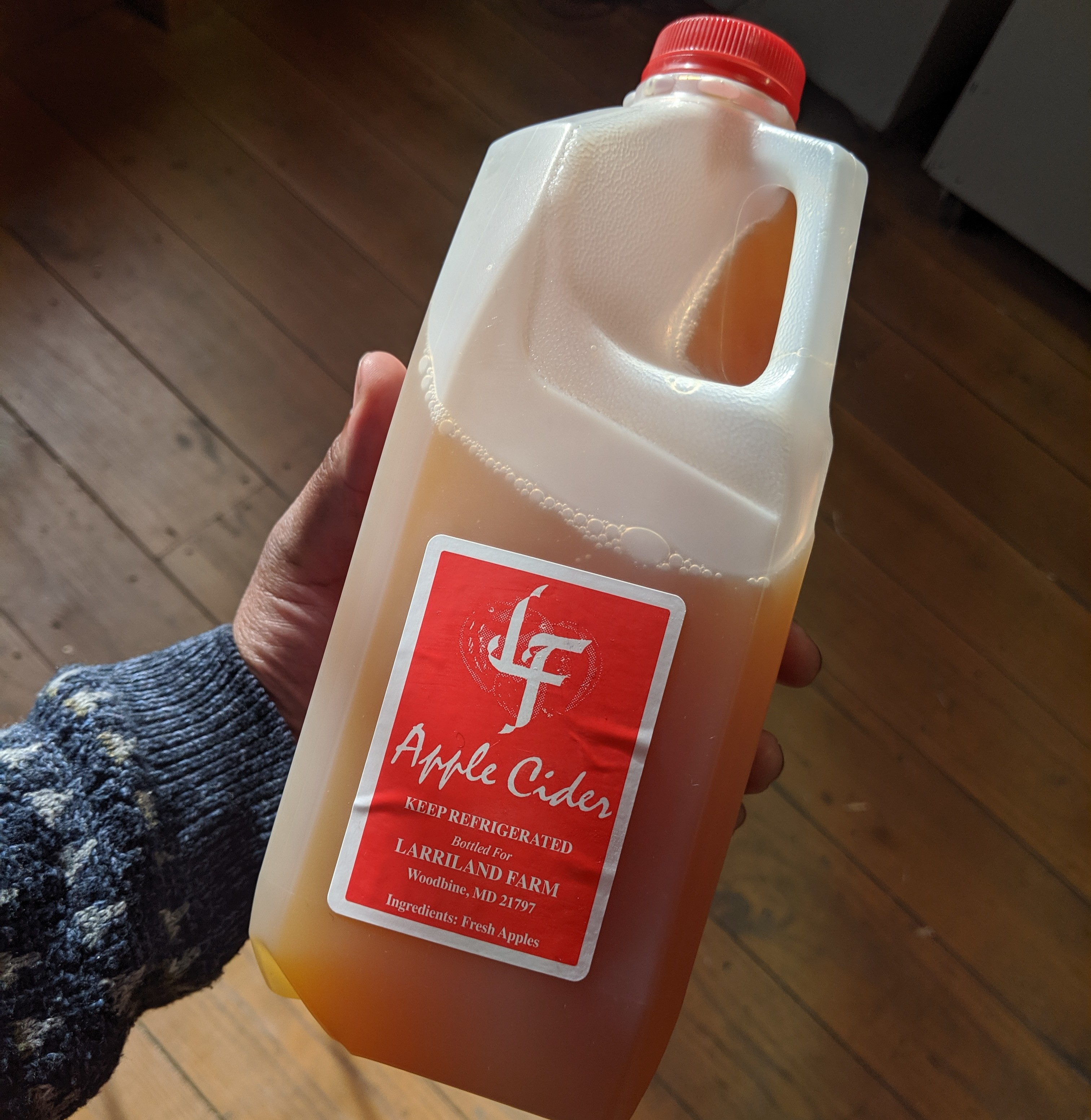 Larriland Farm Apple Cider